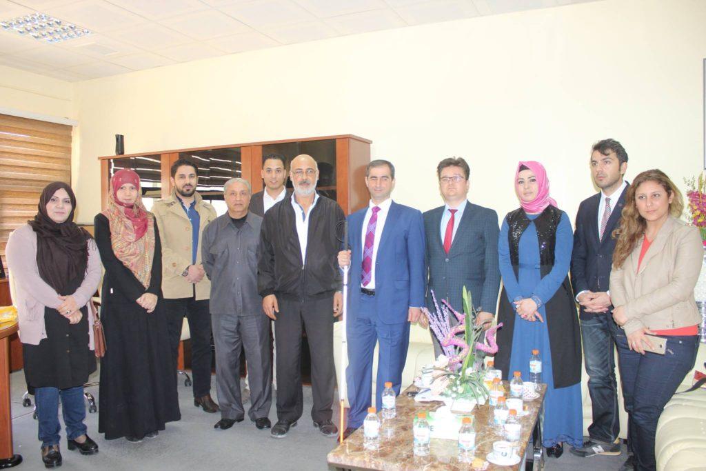 زيارة الوفد التركي لمجمع الرعاية الشاملة لذوي الإعاقة لصندوق التضامن الاجتماعي بالبلدية